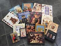 A selection of teddy bear books