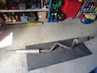 Subaru Legacy or Outback custom stainless exhaust