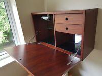 Mahogany Furniture set - TV cabinet - Display cabinet - Shelving & Drinks cabinet