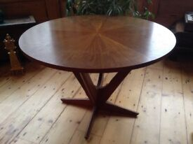 Beautiful DANISH TABLE 1960s SOREN GEORG JENSEN FOR KUBUS