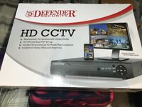 Cctv cameras x 4 and 8 channel dvr brand new