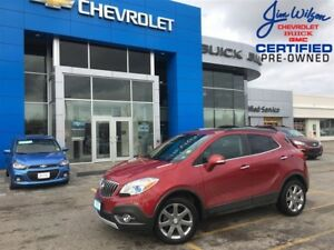2014 Buick Encore Premium AWD LEATHER ROOF CHROMES OFF LEASE!!!