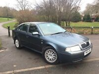 2004 04-Reg Skoda Octavia 1.9 TDI PD Ambiente 5dr, Low Miles, Long MOT, IMMACULATE CONDITION