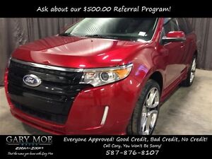 2014 Ford Edge Sport *AWD* *Leather* *Accident Free*