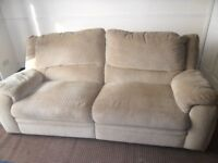 settee and chair both recliners selling due to moving out