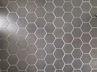 Matte Black Hexagon Tiles (0.5sqm)