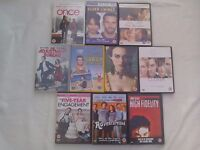 10 DVDs £2 each or all 10 for £15 The Duchess High Fidelity Closer 5year engagement Silver linings