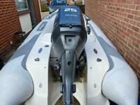 Avon 320 Deluxe Seasport RIB boat with Yamaha 25hp outboard