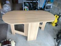 Folding wooden dining table argos
