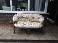 Cane conservatory furniture suite