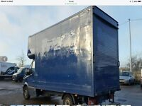 Luton box only For sale