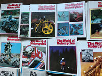 World of Motorcycles Books Volumes 1 - 22 (2638 pages)