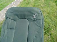 A carp fishing bedchair