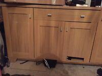 Furniture oak veneer. Free to anyone.