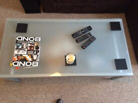 Glass Coffee Table - Excellent Condition