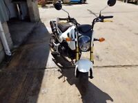 Honda MSX 125-E for sale. Good condition, cat C