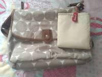 Babymel changing bag with mat