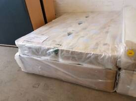 Robin quilted double divan bed (brand new condition)