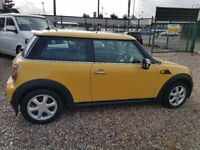 2008 Mini Cooper yellow RARE 1.4 Excellent condition low mileage LOTS OF EXTRAS Service History