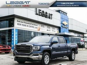 2017 GMC Sierra 1500 V8/CREW CAB/REMOTE STARTER/BACK UP CAMERA