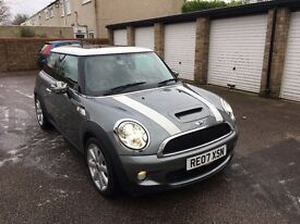 Mini cooper s 2007 immaculate 2 owners from new Full service history half red leather sunroof