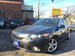 2012 Acura TSX Leather, Sunroof, Alloys, HtdSeats, Bluetooth&War