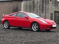 Toyota Celica 1.8vvti ( 140 ) low miles! Drives perfect!