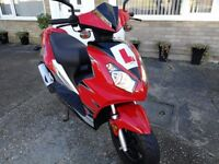 Longjia 50cc Scooter Only 725 Miles 2011