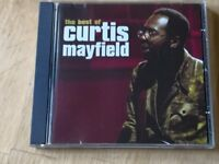 Curtis Mayfield greatest hits CDs 50p