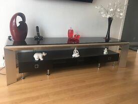 Black gloss sideboard/tv cabinet