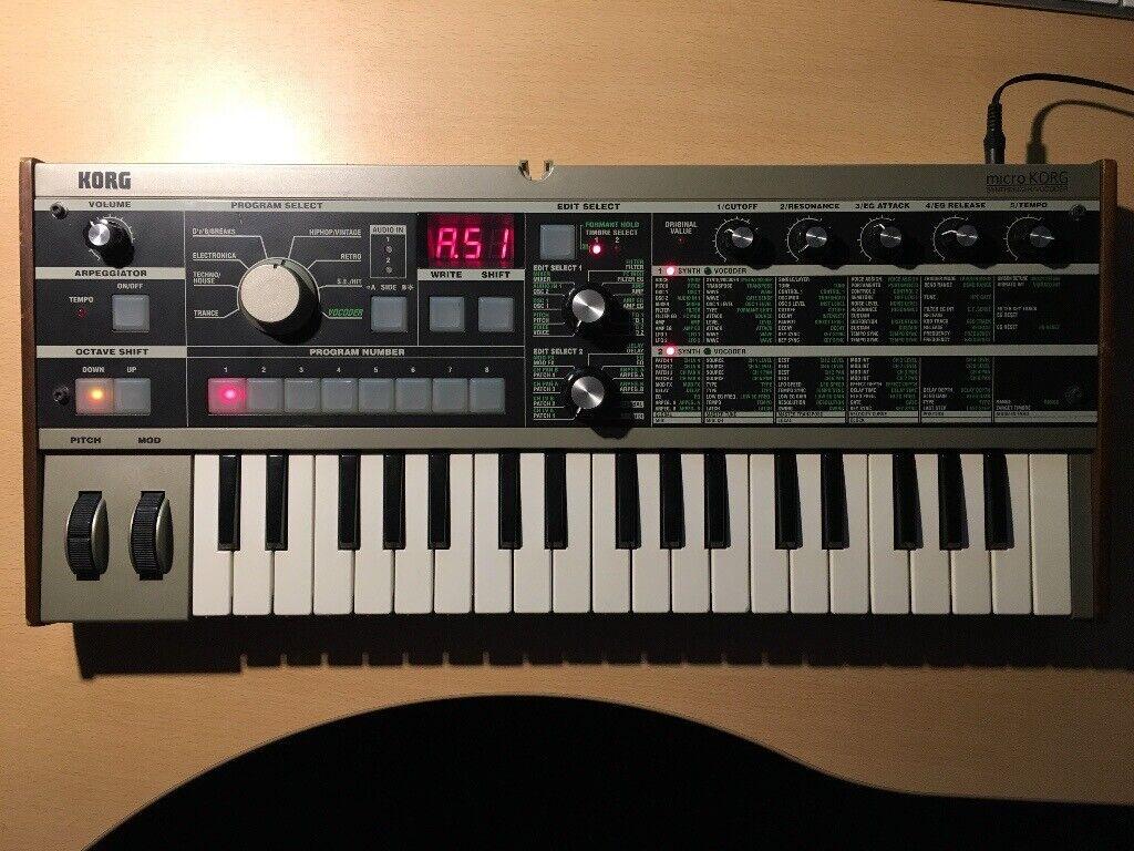 Korg microKORG Synthesizer/Vocoder | in Lisburn, County Antrim | Gumtree