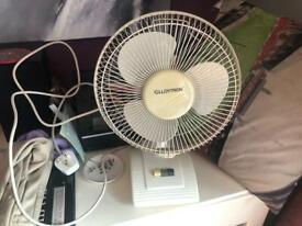 """10"""" desk fan"""