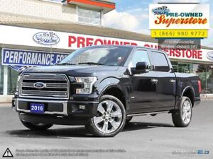 2016 Ford F-150 >>>LIMITED, 3.5L Ecoboost<<<
