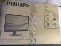 PHILIPS LCD MONITOR 221S6LCB 22 INCHES 1920 X 1080 FULL HD BRAND NEW