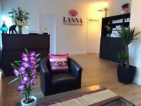 Lanna Thai Massage reopen again Thursday 3rd December