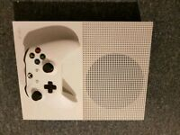 Xbox One S Boxed with 2 Games and 11 Blue-Ray DVDs as New £180 No Offers Immediate Pickup