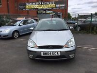 Ford Focus 1.6 i 16v Zetec 5dr DRIVES NICE,