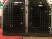 Used TransK9/ B2 Double Dog Crate