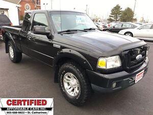 2007 Ford Ranger Sport ** 4X4, TRAILER HITCH, 5 SPEED STANDARD *