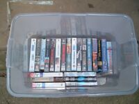75 VHS Tapes of various titles please call or email for full list