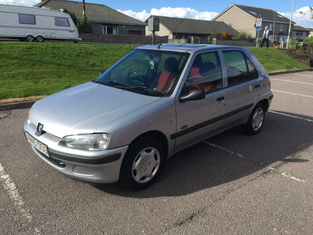 Peugeot 106 zest 1 1 petrol 5 doors in aberdeen gumtree for 106 door