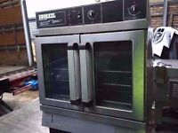 COMMERCIAL CATERING CONVENCTION OVEN FAN ASSIST CUISINE DINING RESTAURANTS CAFES BARS FASTFOOD