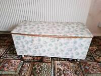Vintage blanket box