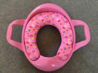 Peppa pig padded toilet seat