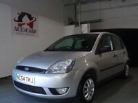 FORD FIESTA FINESSE TDCI SILVER 1.4 5 DOOR HATCHBACK DIESEL 2005 CHEAP BARGAIN