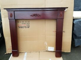 50 inch Red Mahogany Surround