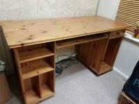 Large Pine Desk