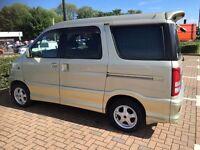 Toyota Sparky 7 seater, or 5 seater, poss micro camper,like Daihatsu Hijet, Atrai, automatic.