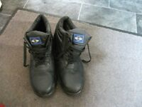 MENS WORK BOOTS STEEL TOE CAPS SIZE 10