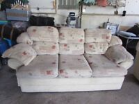 3 seat plus 2 seat sofas good clean condition £50 for both